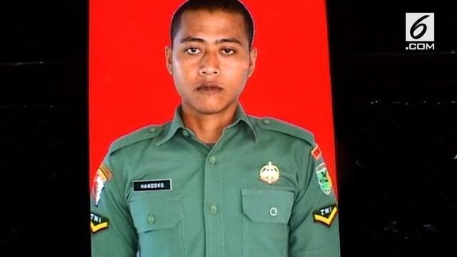 Jenazah anggota batalyon 755/ Yalet yang tewas akibat serangan kelompok bersenjata di Nduga Papua akan dimakamkan di sorong Papua Barat