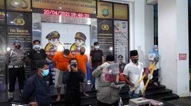 Polres Tangsel merilis kasus pencurian spesialis rumah kosong dan minimarket di ibu kota