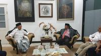 Tokoh Nahdlatul Ulama (NU) Salahuddin Wahid alias Gus Sholah (kiri). (Liputan6.com/Nanda Perdana)