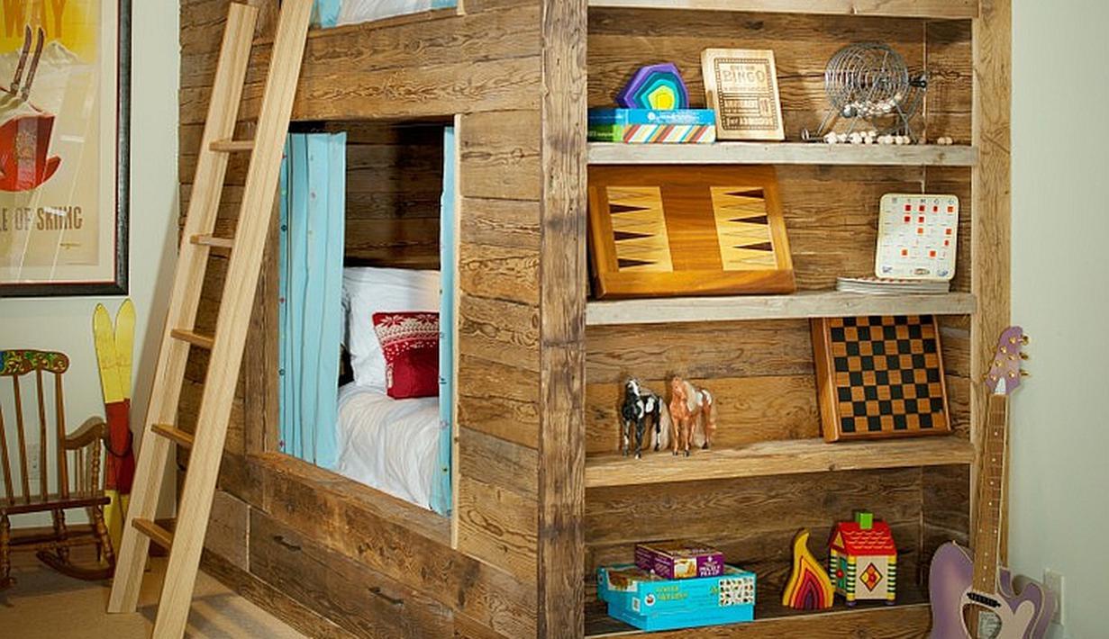 9 Ide Desain Kamar Tidur Anak Minimalis di Ruang Sempit ...