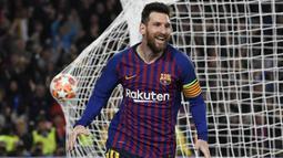 1. Lionel Messi (Barcelona) - 34 Gol. (AFP/Lluis Gene)