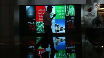 Investor Asing Beli Saham Rp 598,28 Miliar Jelang Akhir Pekan