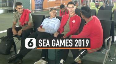Timnas Indonesia U-23 terbang ke Manila, Filipina untuk mengikuti Sea Games 2019. Pemain timnas yakin penampilan mereka akan maksimal terutama setelah mengalahkan Iran dalam laga persabahatan.