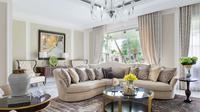 Desain interior rumah bergaya klasik karya Michael Lauw. (dok. Arsitag.com)