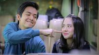 Film Dua Garis Biru yang dibintangi Angga Yunanda dan Zara JKT48 mendapat dukungan dari warganet. Keduanya terlihat sering membagi momen kebersamaan melalui akun Instagram masing-masing. (Liputan6.com/IG/@jkt48.zara)