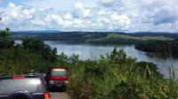 Danau Sentani di Kabupaten Jayapura, Papua, yang mempunyai banyak potensi wisata. (Liputan6.com/Katharina Janur)