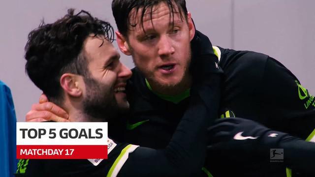 Berita Video 5 Gol Terbaik Pekan 17 Bundesliga, Melihat Keindahan Gol Pemain Borussia Dortmund