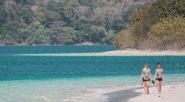Pulau Peucang, Taman Nasional Ujung Kulon, Banten. (Instagram/wukitravel)