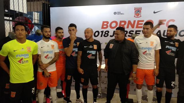 Apparel AS Menyuplai Jersey Borneo FC Musim 2018 - Bola