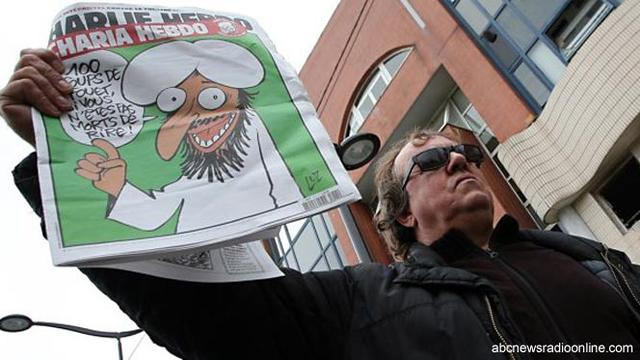 Charlie Hebdo Muat Karikatur Nabi Muhammad - Global