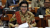 Wakil Ketua KPK Basaria Panjaitan saat Rapat Dengar Pendapat (RDP)  bersama Komisi III DPR RI di Gedung Nusantara II, Komplek Parlemen Senayan, Jakarta, Selasa (14/6). (Liputan6.com/Johan Tallo)