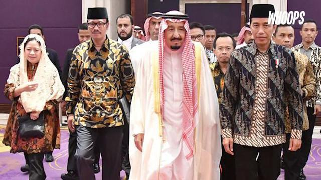 Membawa ribuan rombongan, Raja Salman mengunjungi sejumlah daerah di Indonesia. Dengan segala fasilitas kemewahannya, konon Raja Salman menghabiskan biaya ratusan miliar.