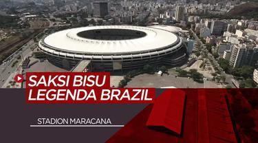 Berita Video 70 tahun Stadion Maracana, Saksi Bisu Legenda Brazil, Pele Cetak Gol ke-1000