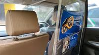 Mobil Lubricant Sumbang Sekat Pelindung Covid-19 Buat Taksi Online (Ist)
