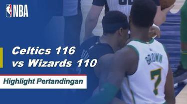 Terry Rozier mencetak 21 poin dan meraih empat rebound dalam kemenangan Boston atas Washington.