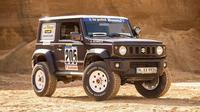 Rumah modifikasi asal Jerman, Delta 4x4, memoles Suzuki Jimny dengan mengadaptasi gaya Rally Paris-Dakar di era 80an