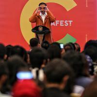 Joko Widodo buka Idea Fest