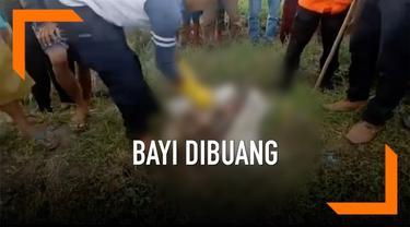 Mayat bayi ditemukan di sebuah saluran irigasi di Brebes, Jawa Tengah. Mirisnya pada bagian tubuh ditemukan sejumlah luka akibat benda tajam dan tumpul.