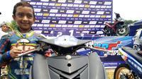 Bocah 11 tahun ini punya nama yang sama dengan Nicky Hayden dan menang podium dua di Yamaha Cup Race 2018 (dok: Yamaha)