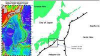Gempa besar diperkirakan bisa terjadi di sepanjang Patahan Nankai Jepang (Wikimedia Commons)