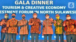 Kadin Indonesia mendukung percepatan pengembangan industri dan investasi pariwisata dan ekonomi kreatif di Sulawesi Utara khususnya di Kawasan Ekonomi Khusus (KEK) Likupang yang merupakan salah satu destinasi wisata super prioritas yang terletak di Kabupaten Minahasa Utara, Sulut. (Liputan6.com/Pool