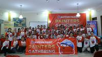 Painters Gathering Serentak di 32 kota di Indonesia dari Nippon Paint untuk mandor dan tukang cat.