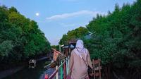 Ekowisata Mangrove Lantebung, Makassar, Sulwesi Selatan. (dok. Instagram @herwinbahar/https://www.instagram.com/p/CERUJkpHao0/)