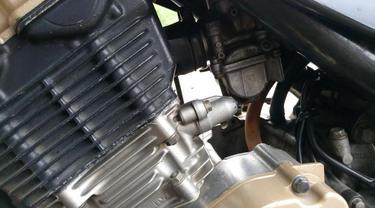 Karburator dan tensioner Satria F150