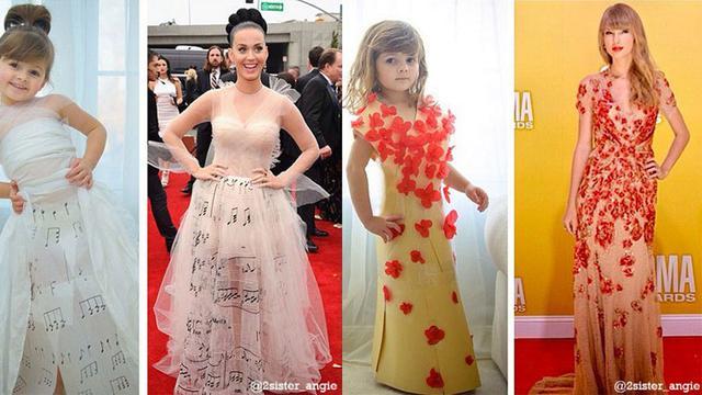 Ibu Dan Anak Ini Buat Replika Baju Dari Kertas Fashion Beauty