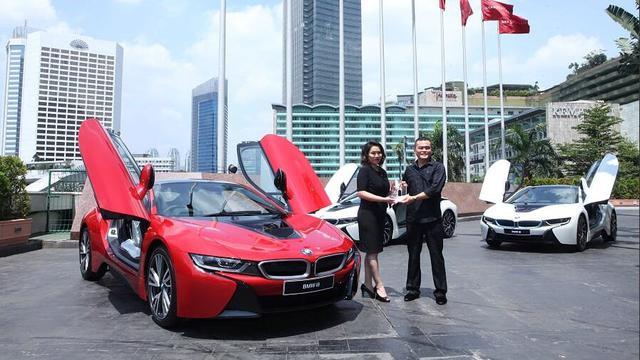 3 Bmw I8 Sudah Di Tangan Konsumen Indonesia Satu Yang Spesial