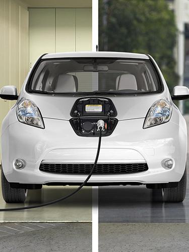 Mobil Listrik. (Nissan)