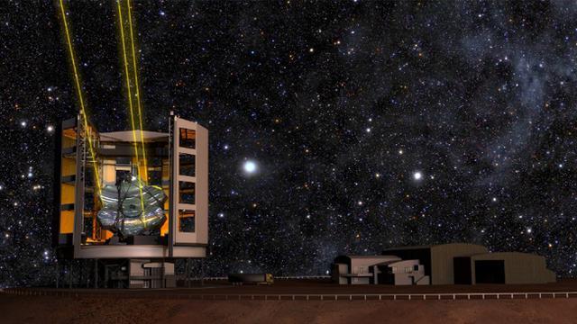 Ini teleskop raksasa yang akan menguak rahasia alam semesta