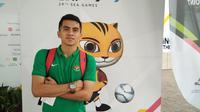 Pemain tim nasional futsal Indonesia, Andriansyah Agustin. (Liputan6.com/Cakrayuri Nuralam)