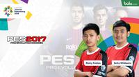 Atlet PES Asian Games 2018. (Bola.com/Dody Iryawan)