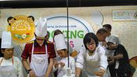 Ada penelitian yang menunjukkan bahwa masak bersama anak ada pengaruhnya terhadap tingkah lakunya yang lebih sehat.