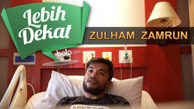 Zulham Zamrun, pemain terbaik di Piala Presiden 2015 memberikan pengakuan secara eksklusif pada bola.com usai menjalani operasi akibat cedera ligamen pada hari Selasa (8/12/2015).