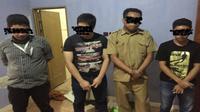 Empat Pelaku Pengguna Narkoba di Ciduk Polda Sulsel, satu diantaranya anak wakil Bupati Maros. (Foto: Ist/Kabarmakassar.com)
