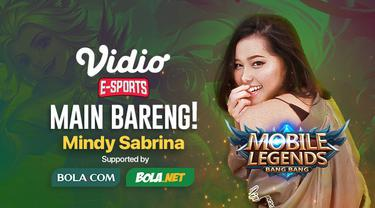 Berita video jangan sampai kelupaan buat main bareng Mobile Legends: Bang Bang bersama si cantik Mindy Sabrina hari ini, Kamis 21 Mei 2020.