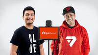 QlueThermal, CEO Qlue Rama Raditya dan Pandji Pragiwaksono. (Dok. Clue)