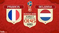 Kualifikasi Piala Dunia 2018 Prancis Vs Belanda (Bola.com/Adreanus Titus)