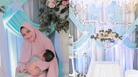 Akikah Anak Pertama Nadya Mustika dan Rizki D'Academy (Sumber: Instagram/twcatering)