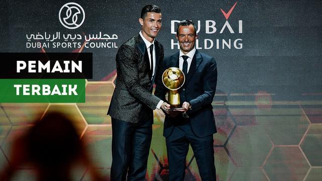 Cristiano Ronaldo kembali terpilih menjadi pemain terbaik dunia versi Globe Soccer Awards.