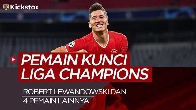 Berita motion grafis 5 pemain Kunck yang bisa jadi pilihan di Kickstox saham bola Liga Champions.