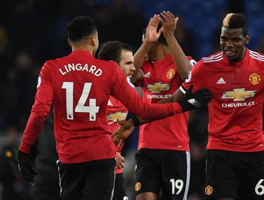 Taklukan Everton, Manchester United Awali Tahun Dengan Kemenangan