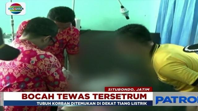 Seorang anak di Situbondo, Jawa Tengah, tewas tersengat aliran listrik saat bermain usai pulang sekolah.