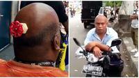 Kelakuan Orang dengan Kepala Botaknya Ini Bikin Ketawa Geli (sumber:instagram/ngakakkocak)