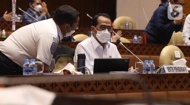 Raker Menhub dengan Komisi V DPR