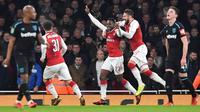 Arsenal vs West Ham United (AFP/Ben Stansall)