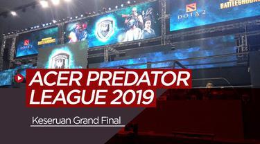 Berita video vlog bola.com tentang keseruan grand final PUBG Asia Pacific Predator League 2019 di Bangkok, Thailand.