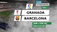 La Liga_Granada Vs Barcelona (Bola.com/Adreanus Titus)